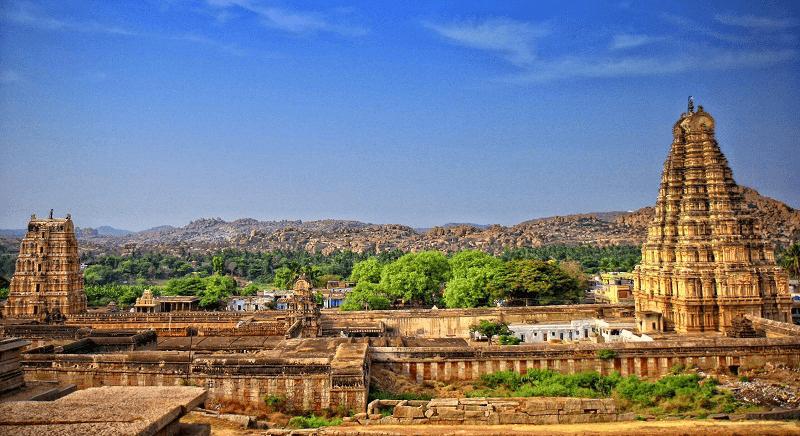 9. hampi tempel