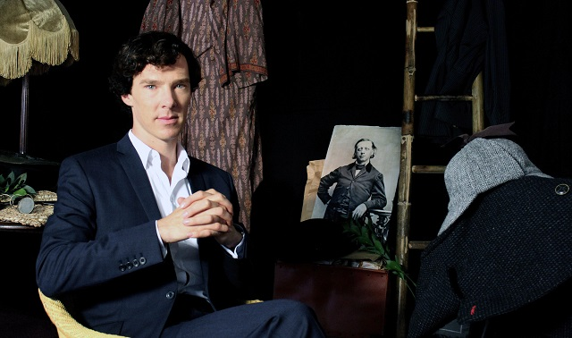 Programme Name: Timeshift: How to be Sherlock Holmes - The Many Faces of a Master Detective - TX: n/a - Episode: Timeshift: How to be Sherlock Holmes - The Many Faces of a Master Detective (No. n/a) - Embargoed for publication until: n/a - Picture Shows: Benedict Cumberbatch - (C) BBC - Photographer: Matthew Thomas